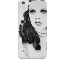 Judy Garland Minimal Portrait iPhone Case/Skin