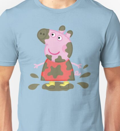 Muddy Puddles Peppa Pig Unisex T-Shirt