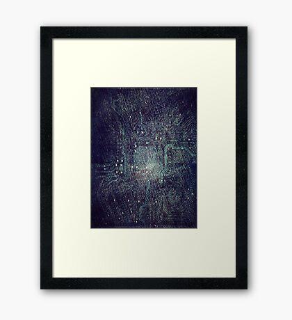 1985 In Cyberdrive City Framed Print