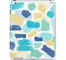 Colorful Brush Strokes Pattern iPad Case/Skin