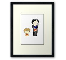 Thing 1 and Thing 2 Framed Print