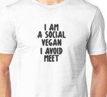 Social vegan Unisex T-Shirt