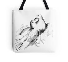 Wedding Doves. Just Married Doves. Nuptial Doves. Newlywed Doves. Bridal Shower Doves. Tote Bag