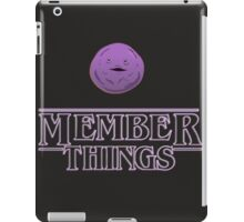 member things text quotes iPad Case/Skin