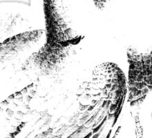 Wedding Doves. Just Married Doves. Nuptial Doves. Newlywed Doves. Bridal Shower Doves. Sticker
