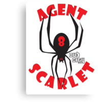 Agent Scarlet #8 Dub City Canvas Print