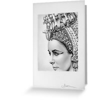 Elizabeth Taylor Portrait Greeting Card