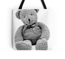 Cuddly Teddy Bear. Vintage Teddy Bear. Antique Teddy Bear. Teddy Bear Engraving. Tote Bag