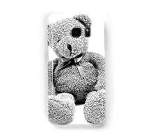Cuddly Teddy Bear. Vintage Teddy Bear. Antique Teddy Bear. Teddy Bear Engraving. Samsung Galaxy Case/Skin