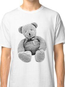 Cuddly Teddy Bear. Vintage Teddy Bear. Antique Teddy Bear. Teddy Bear Engraving. Classic T-Shirt