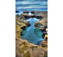 """""""Hour Glass"""",Point Roadknight,Anglesea,Great Ocean Road,Australia. Photographic Print"""