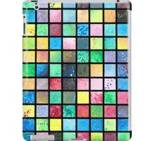 Black Grid Canvas iPad Case/Skin