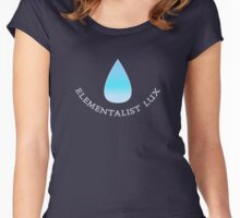 Lux Elementalist Water Women's Fitted Scoop T-Shirt