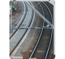 Railroad Track  iPad Case/Skin