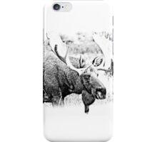 Bull Moose. Wildlife Moose. Moose Antlers. Canadian Moose. Alaskan Moose. iPhone Case/Skin