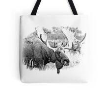 Bull Moose. Wildlife Moose. Moose Antlers. Canadian Moose. Alaskan Moose. Tote Bag