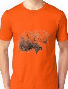 Bull Moose. Wildlife Moose. Moose Antlers. Canadian Moose. Alaskan Moose. Unisex T-Shirt