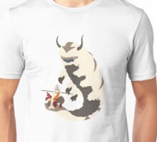 Aang and Appa! - Just Chillin Unisex T-Shirt