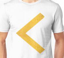 Arrow in Gold Unisex T-Shirt