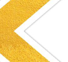 Arrow in Gold Sticker