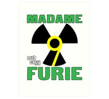 Madame Fury #9 Dub City Art Print