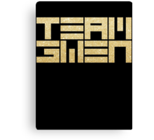 TEAM GWEN Canvas Print