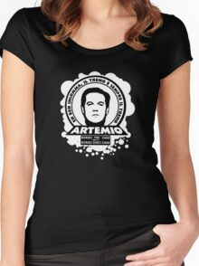 Artemio - Il ragazzo di campagna - il treno Women's Fitted Scoop T-Shirt