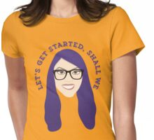 Let's get started Womens Fitted T-Shirt