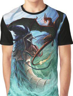 gyarados vs charizard Graphic T-Shirt