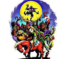 The legend of Zelda - Majoras Mask by cesimagina