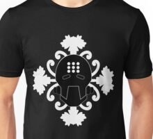 Pass Into the Iris - Zenyatta Inspired Apparel Black on White w/ Irises (UNOFFICIAL) Unisex T-Shirt