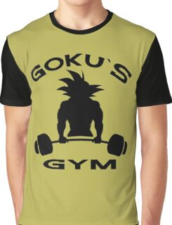 Goku`s Gym Graphic T-Shirt