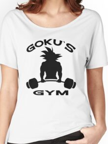 Goku`s Gym Women's Relaxed Fit T-Shirt