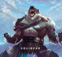 League Of Legends - Volibear by mariafumada