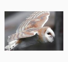 Fying Barn Owl Kids Clothes