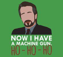 Now I Have A Machine Gun. Kids Tee