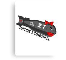 Suicide Bombshell #27 Dub City Canvas Print