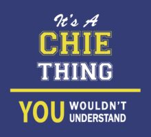 It's A CHIE thing, you wouldn't understand !! by satro
