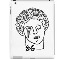 Aphrodite is a sad bitch shirt white iPad Case/Skin