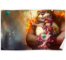League Of Legends - Annie & Tibbers Poster
