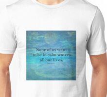 Sea Ocean Jane Austen quote Unisex T-Shirt