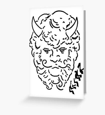Living the Bacchus life shirt white Greeting Card
