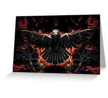 Soul of the Raven Greeting Card