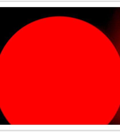 Little red sun Sticker