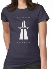 Autobahn Kraftwerk Inspired Womens Fitted T-Shirt