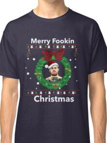 Conor McGregor- Merry Christmas  Classic T-Shirt