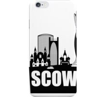 Moscow Skyline  iPhone Case/Skin