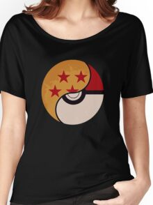 Pokemon Dragon Ball Fusion  Women's Relaxed Fit T-Shirt