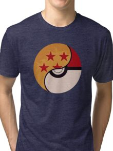Pokemon Dragon Ball Fusion  Tri-blend T-Shirt
