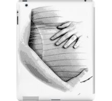 Pregnant Tummy. Expectant Mother Holding Her Precious Baby. iPad Case/Skin